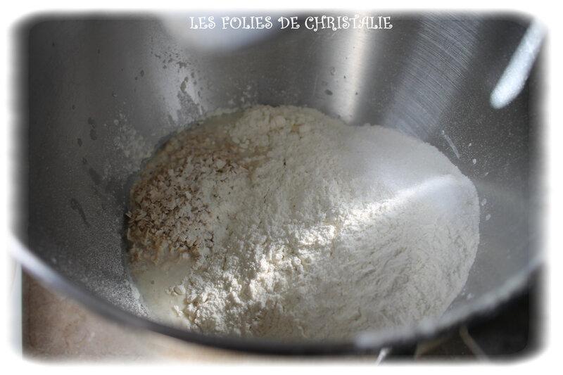 Pain flocons avoine 1