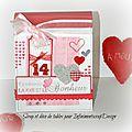 Mini album saint-valentin pour infiñimentscrapdesign