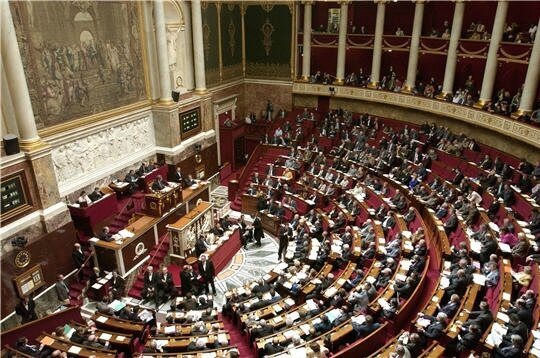 Assemblee nationale hémicycle plein