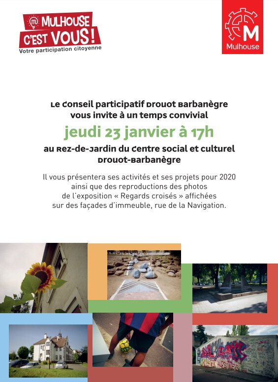 Quartier Drouot - Invitation