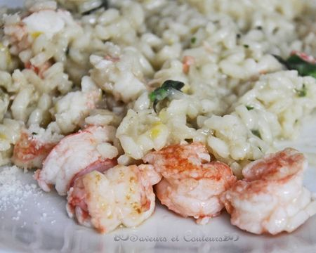 Risotto langoustines GP
