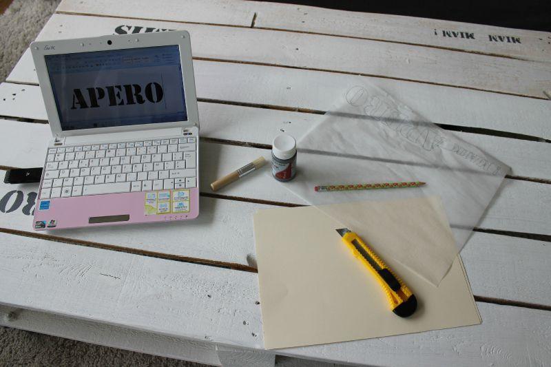 Fabriquer ses propres pochoirs c 39 est ma d co co for Papier peint pour ordinateur