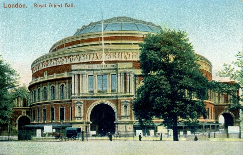 CPA Londres Royal albert Hall