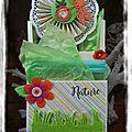 Une loaded envelope sur le thème du printemps