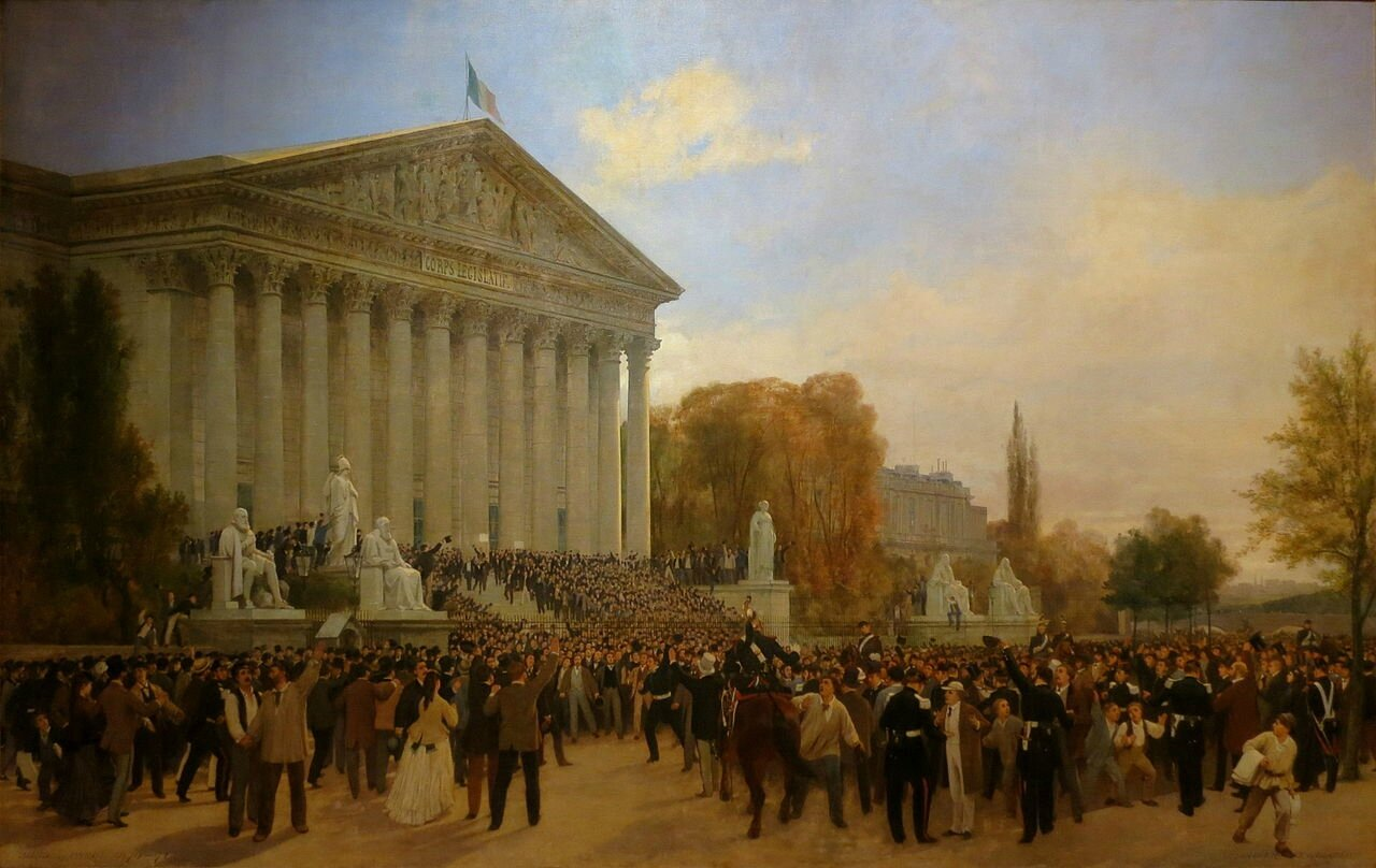 Didier et Guiaud : Abolition de l'Empire, 4 septembre 1870