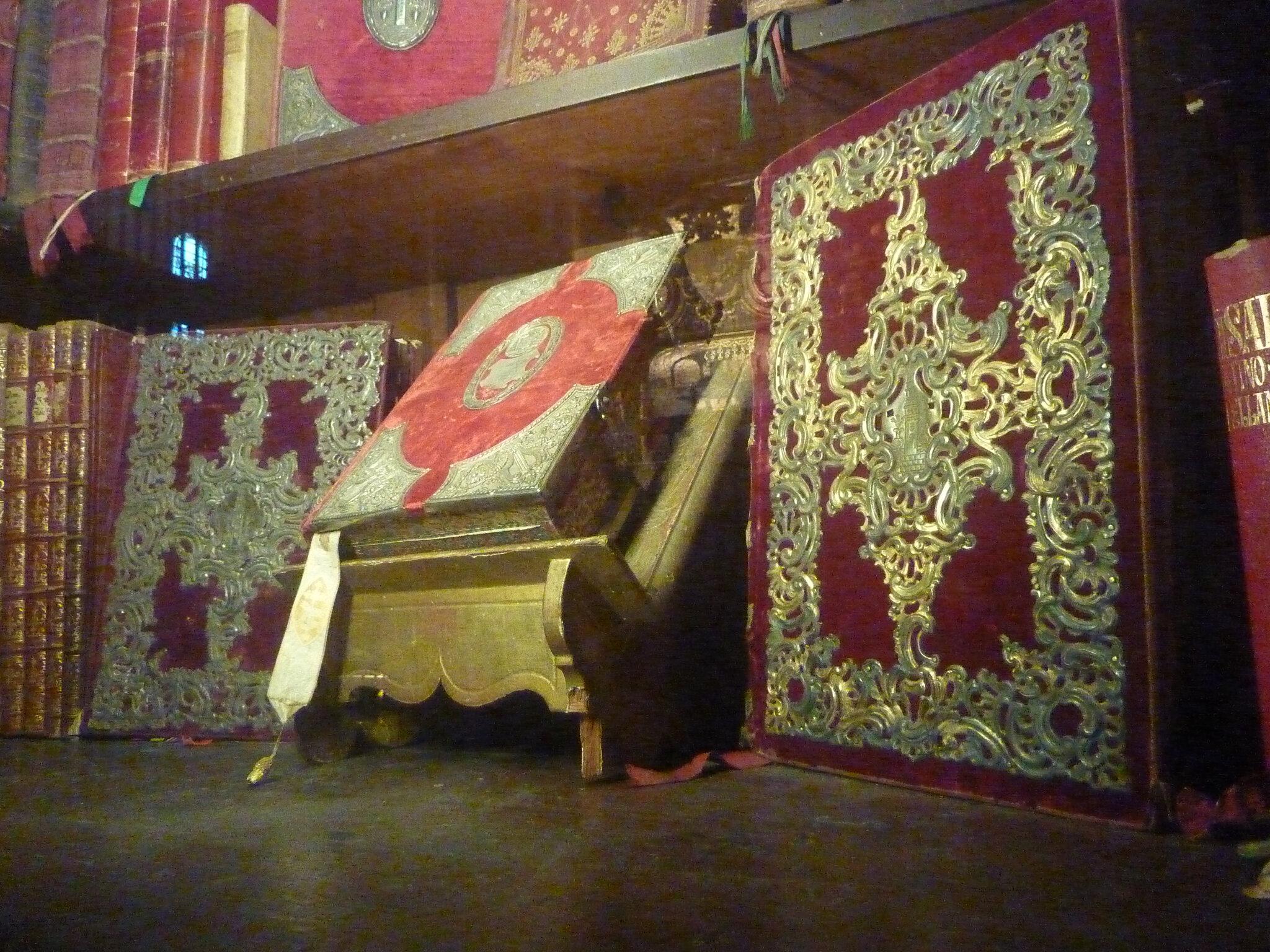 livres du trésor de la cathédrale de Séville