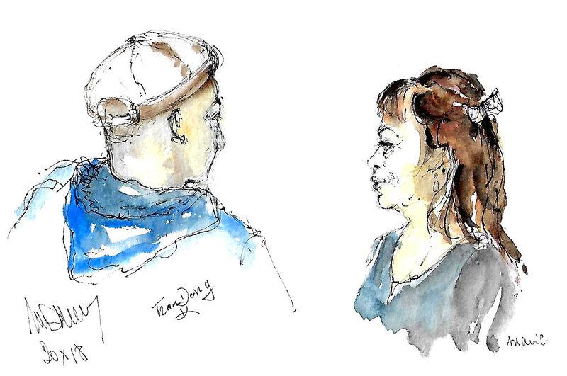 Aiguillon Khang et Marie
