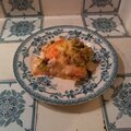 Flan poireaux saumon