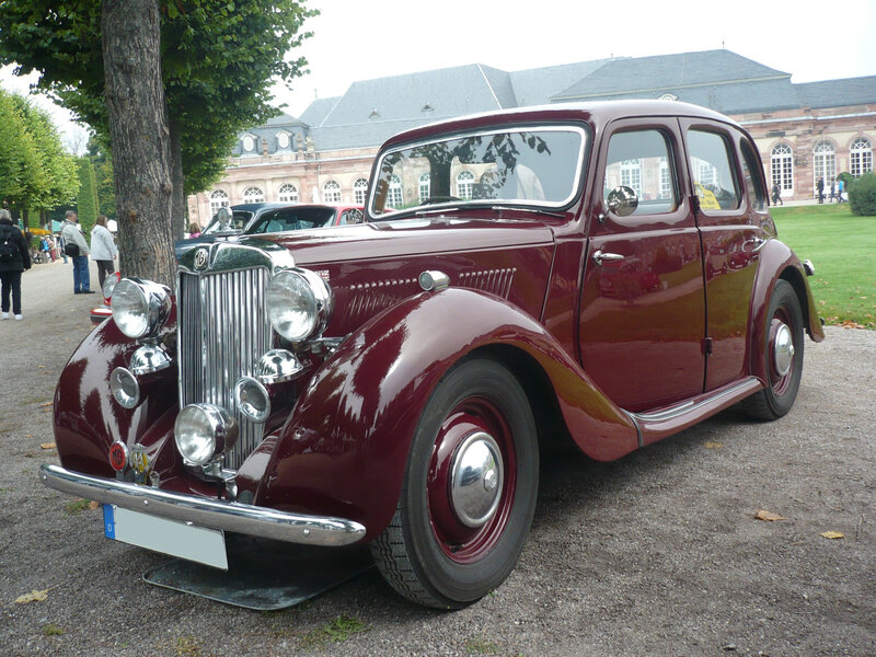 MG type YA berline 1950 Schwetzingen (1)