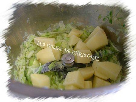 Soupe de pommes de terre 6