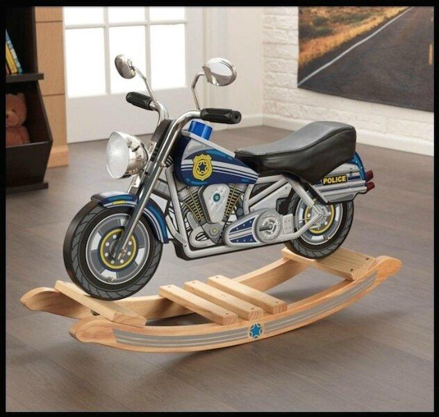 emob4toys moto police bascule 1