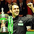Ronnie O'Sullivan champion du monde de snooker en 2008 (2)