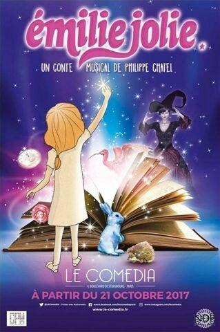 Emilie Jolie au Comédia