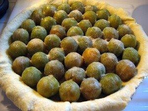 Disposition des prunes