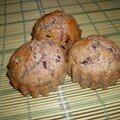 Muffins version écureuil