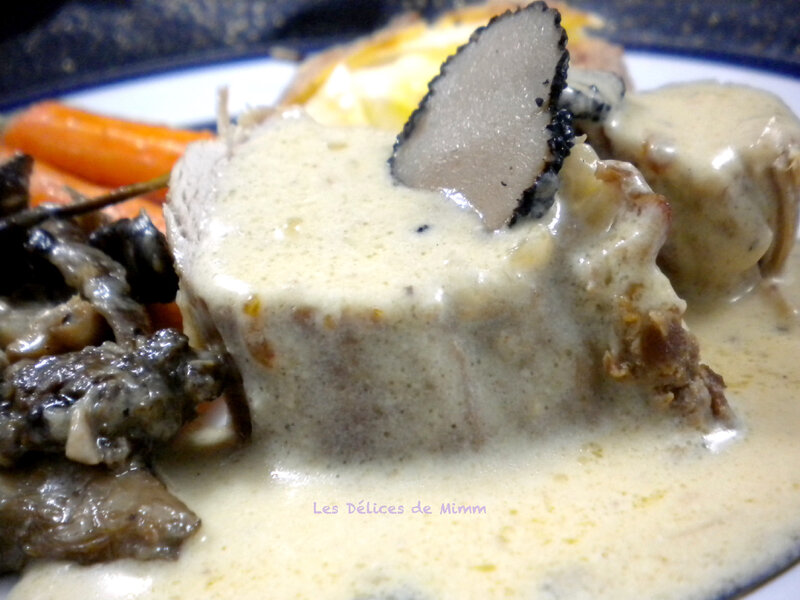 Filet mignon aux truffes 3