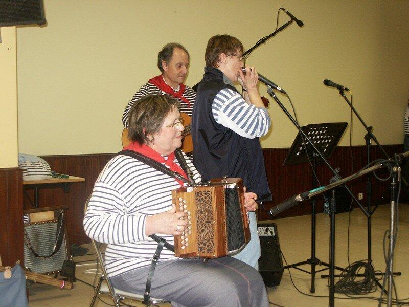 Les musiciens de Kanarvoris