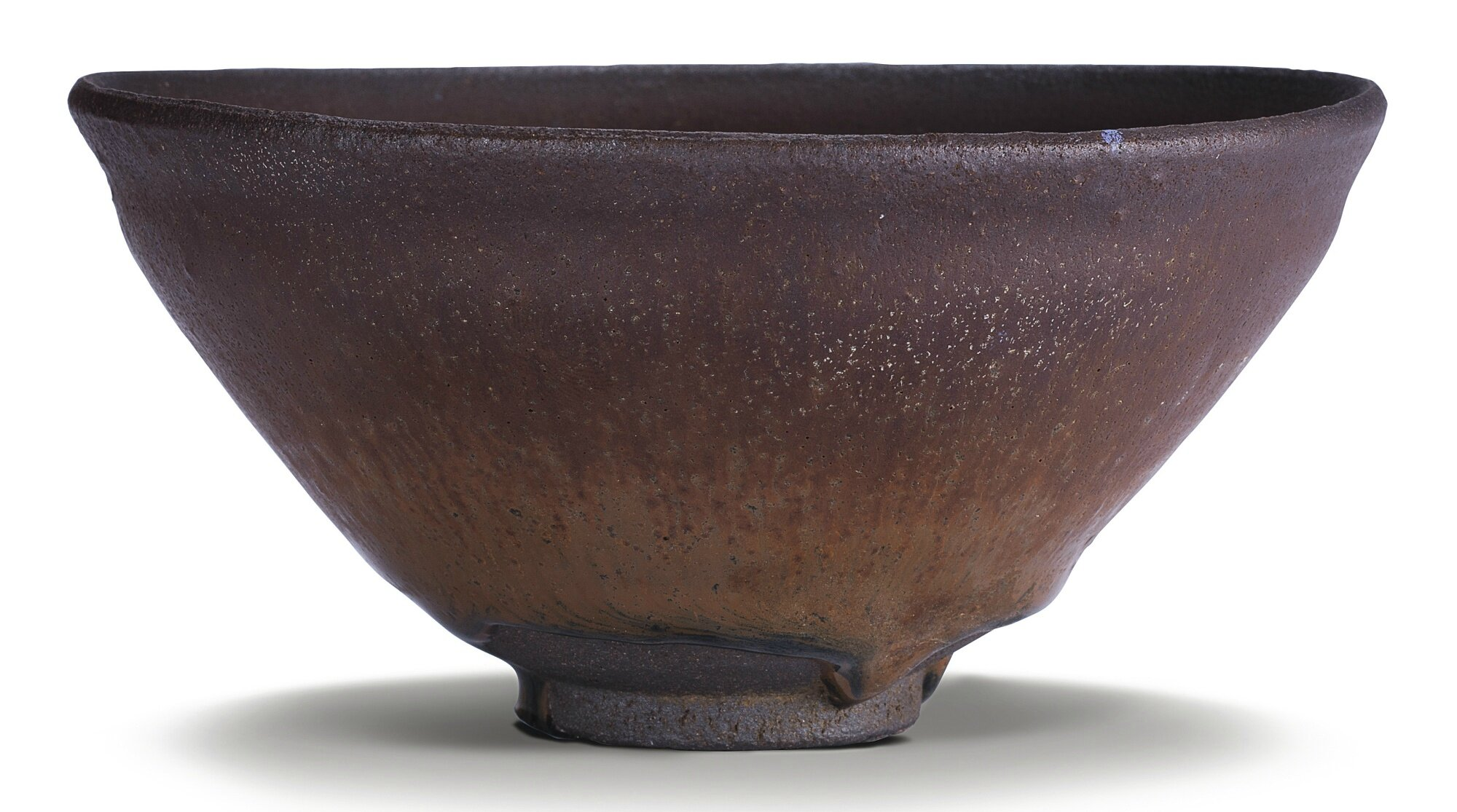 A 'Jian' 'Hare's Fur' black-streaked bowl, Song dynasty (960–1279)