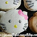 Mes macarons fantaisies : minions, ourson me to you, hello kitty, cupcakes, mickey, etc...