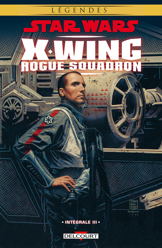 delcourt star wars x-wing rogue squadron intégrale 03