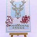 Carte au cerf - deer card