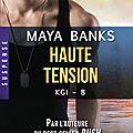 Kgi tome 8 haute tension de maya banks