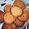 Cookies au beurre de cacahuètes de Rachel