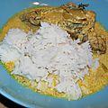 Pintade seychelloise: vanille et coco