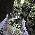 Gorges de Kakuetta, les passerelles