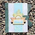 Une création de julie blanc : album sunny bay