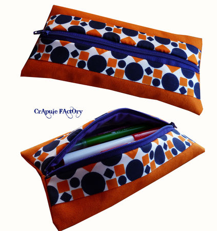 trOusse_plate_orange_bleu_vintage