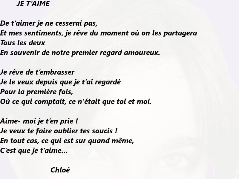 Mes Gifs Lettre Avec Poeme Creationsy