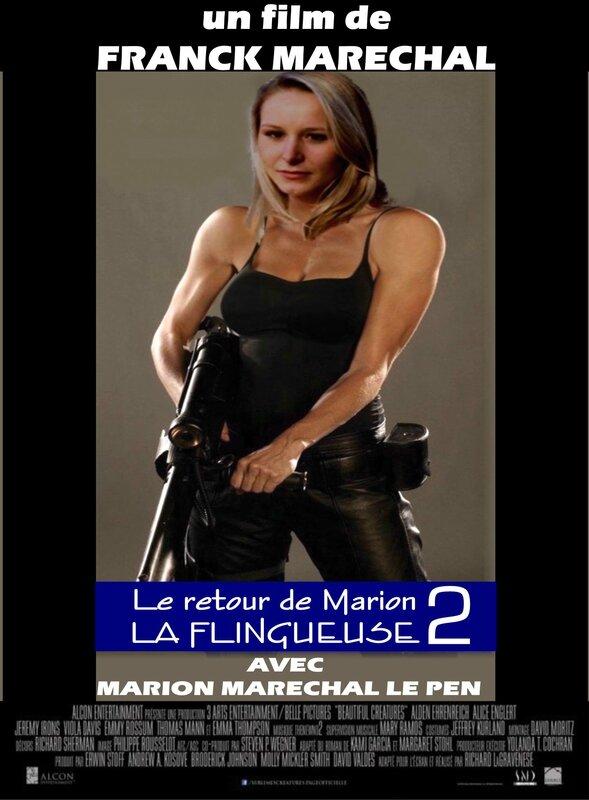 Affiche 2015 LA FLINGUEUSE 2