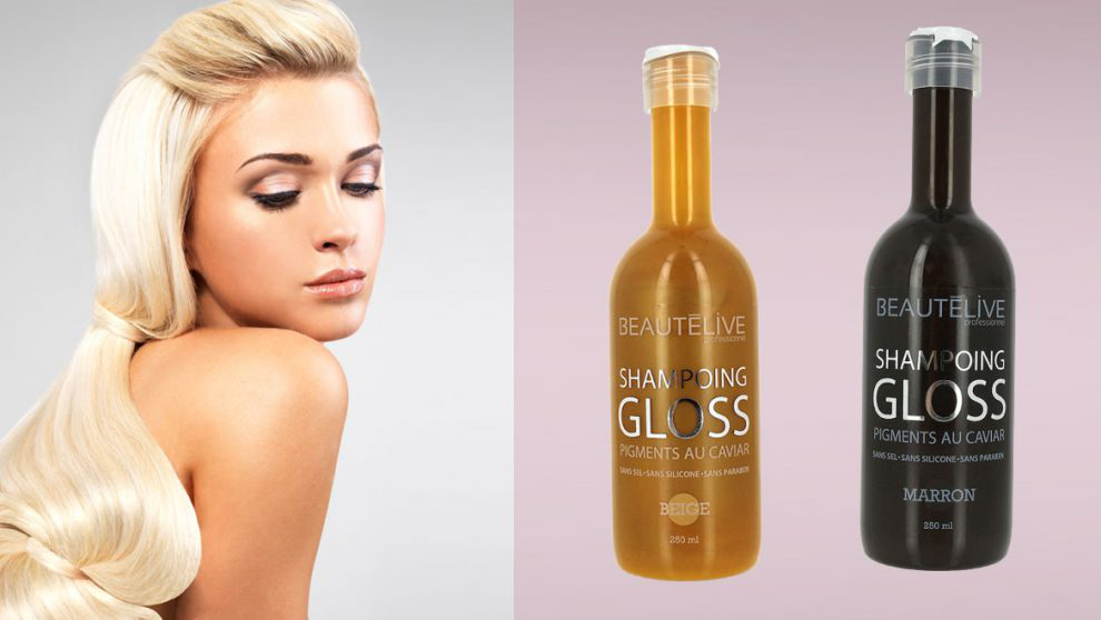 GOUIRAN BEAUTÉ : A tester ce mois-ci : 20 shampoings gloss repigmentant Beautélive 🎀