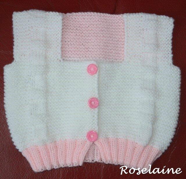 Roselaine gilet Bebek 2