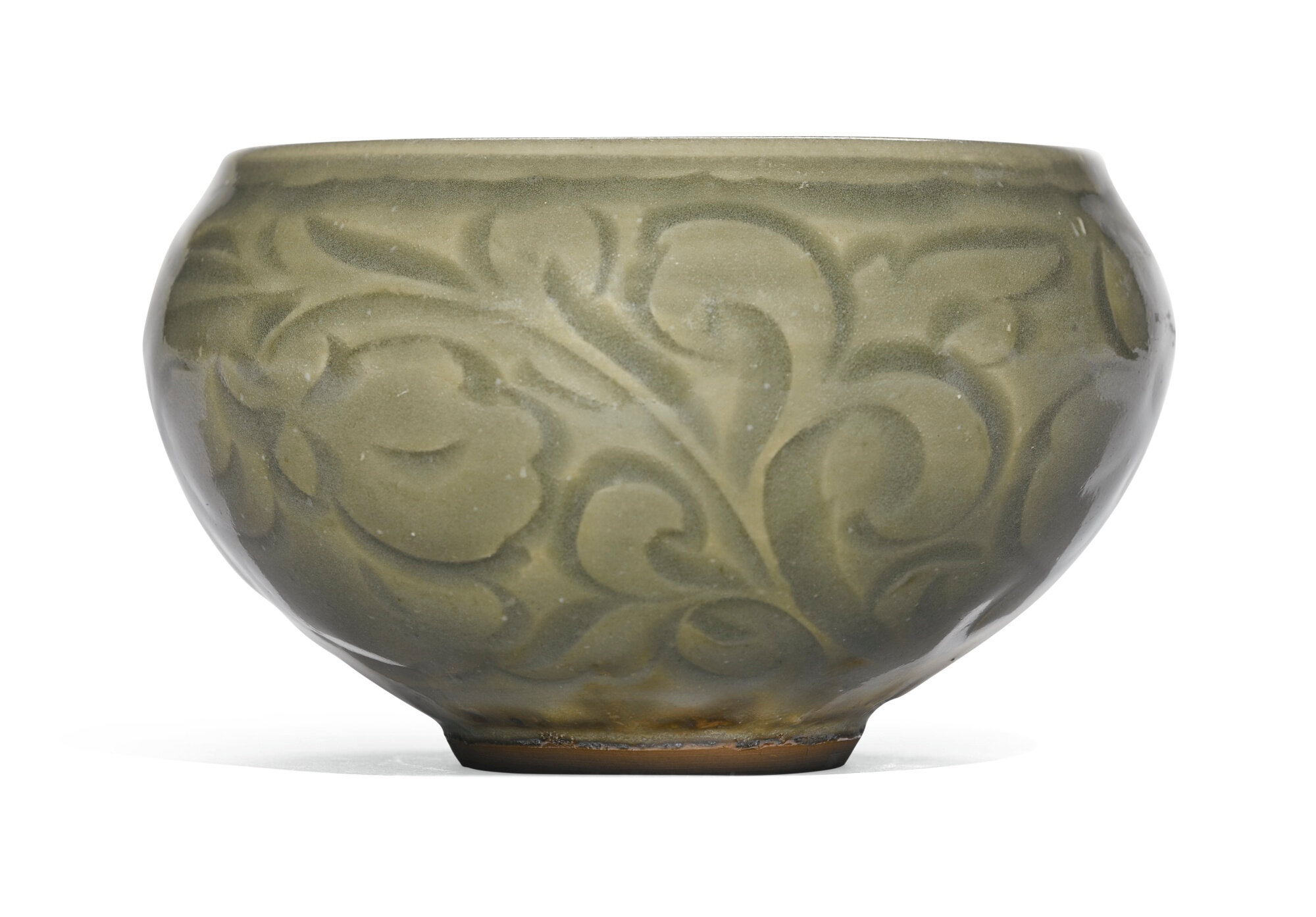 A 'Yaozhou' carved bowl, Song dynasty (960-1279)