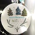 Galette de Noël petits sapins punch needle 2 - exclusivité ©marimerveille