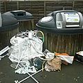 Robineau a transformé la ville des herbiers en une poubelle!