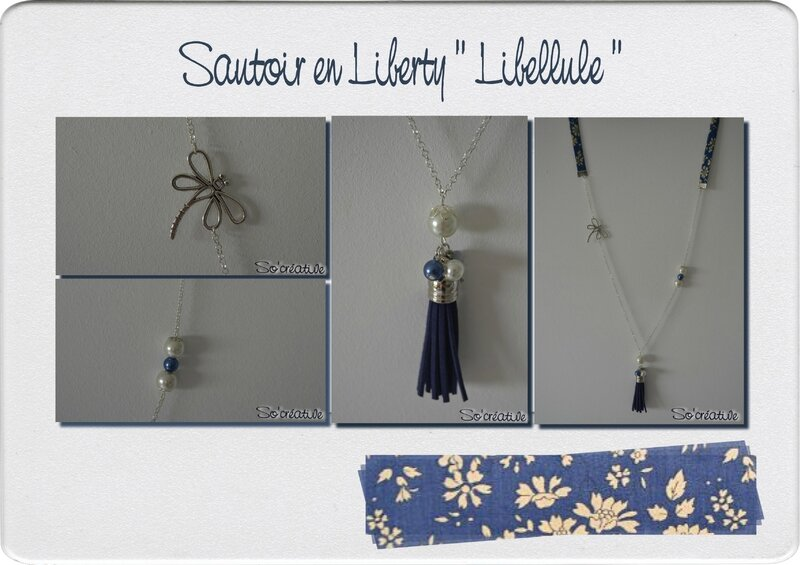 Sautoir Libellule