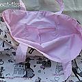 Intérieur sac piscine Juliette