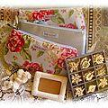 Présents offerts à mon Amie d'Enfance Céline pour Noël * 2012