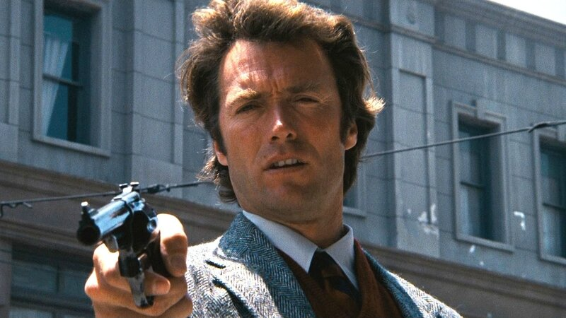 clint-eastwood as Harry Callahan