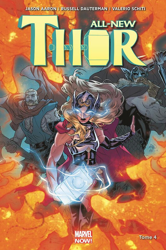 marvel now all new thor 04 thor le guerrier