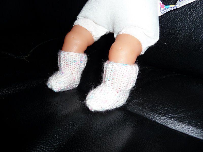 chaussettes miniatures