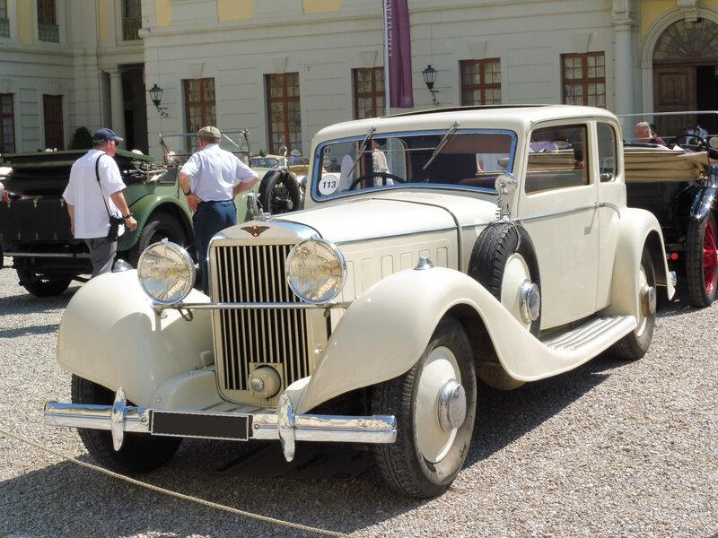 HISPANO SUIZA K6 demi-berline par Vanvooren 1934 Ludwigsburg (1)