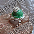 Bague Chantilly pistache