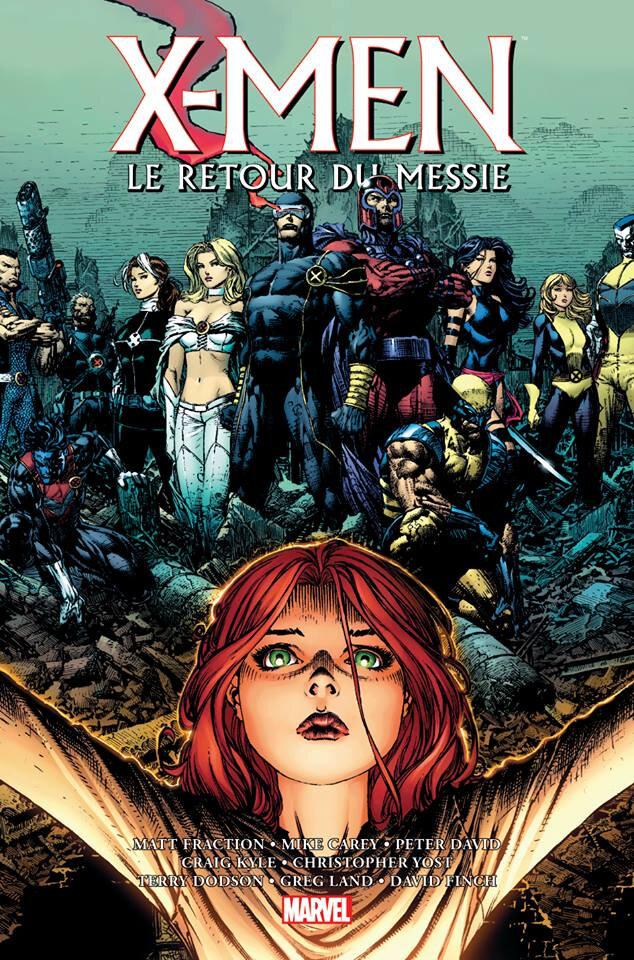 Panini Marvel Omnibus X-Men le retour du messie