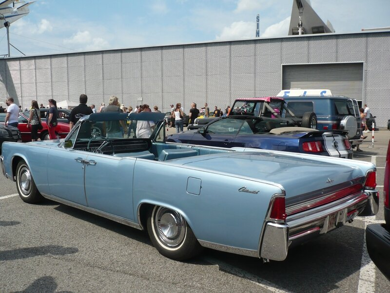 LINCOLN Continental 4door convertible 1964 Sinsheim (2)