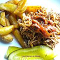 Pulled pork au sirop d'érable