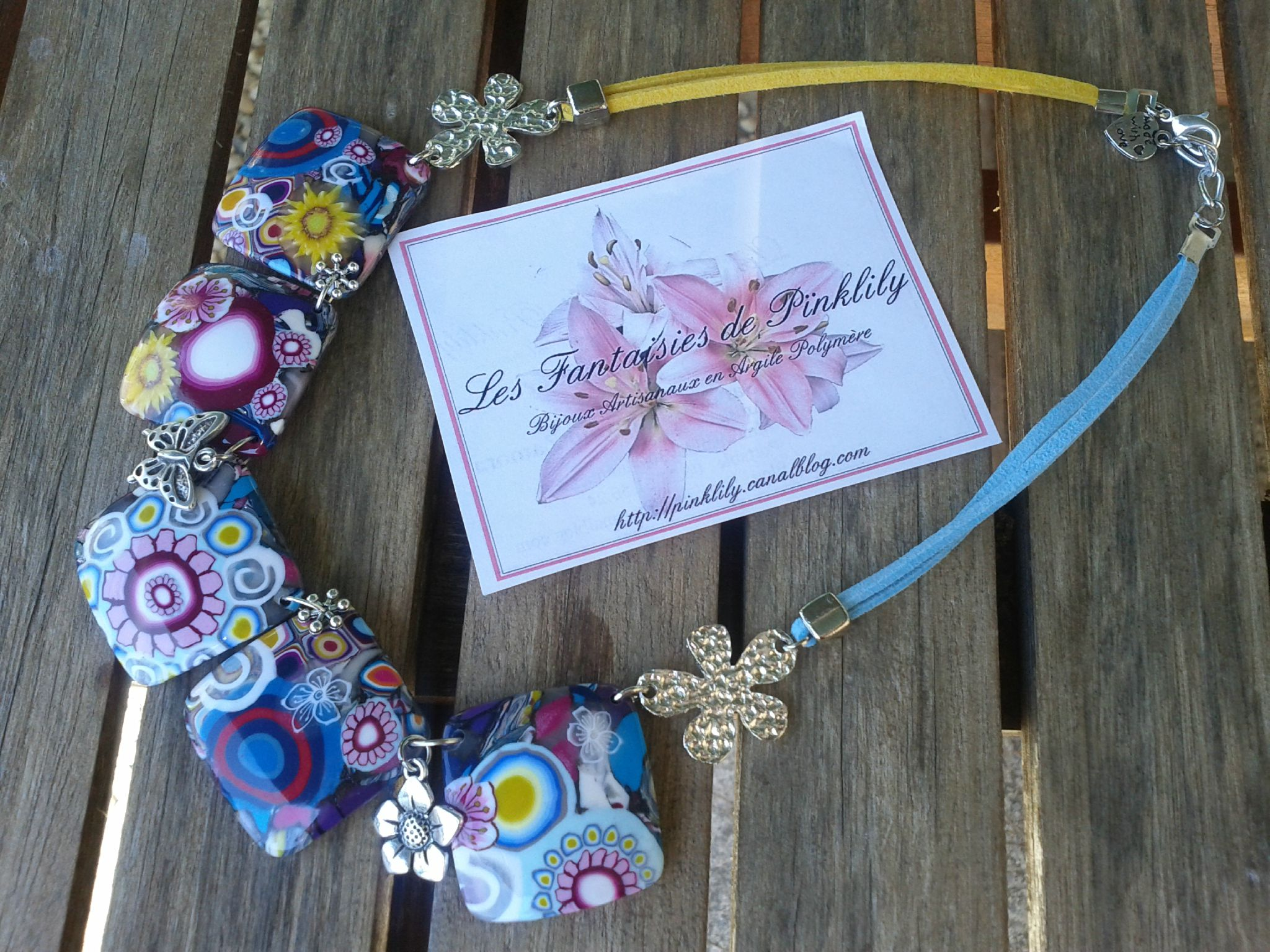 Sun and Flowers, collier 29€ VENDU